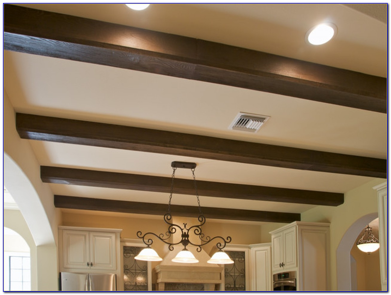 Wooden Beam Ceiling Designs