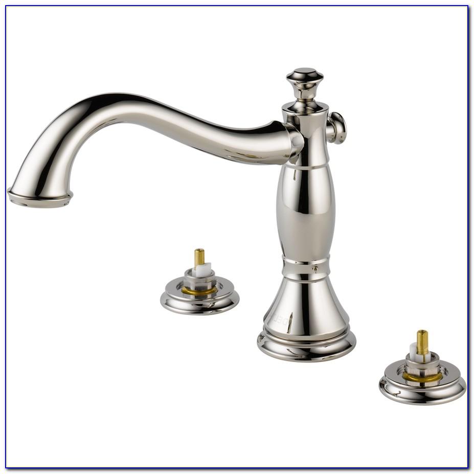 2 Handle Wall Mount Bathtub Faucet