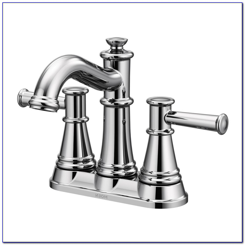 4 Centerset Bathroom Faucet Bronze