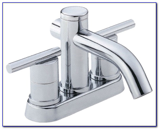 4 Centerset Bathroom Faucet Chrome