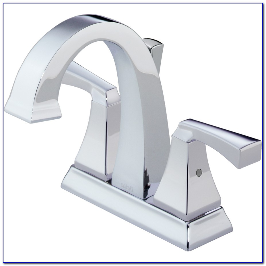 4 Centerset Bathroom Sink Faucet With Drain