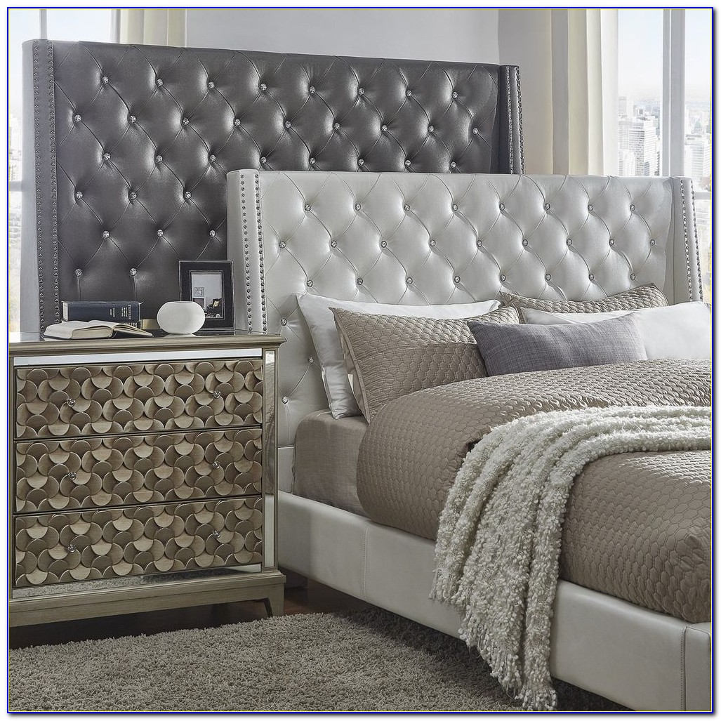 Alayna Faux Leather Tufted Headboard By Inspire Q Bold