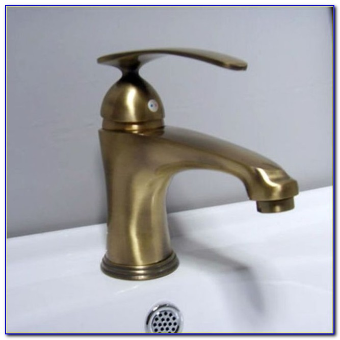 Antique Brass Bathroom Sink Fixtures