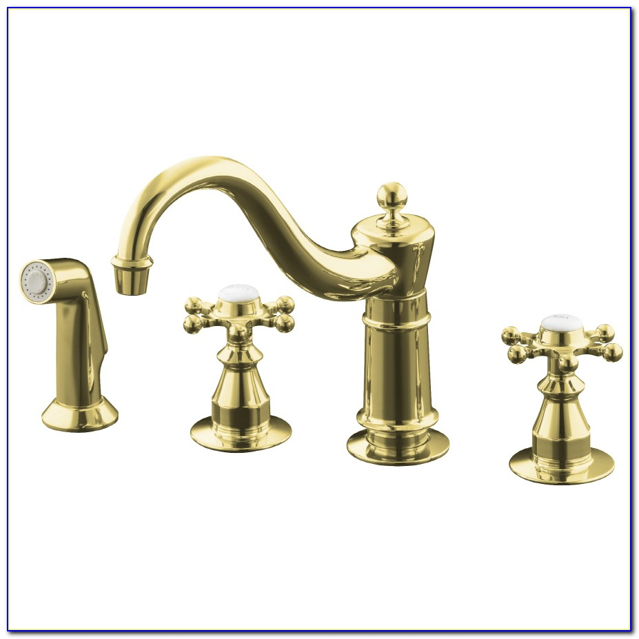 Antique Brass Kitchen Sink Faucets