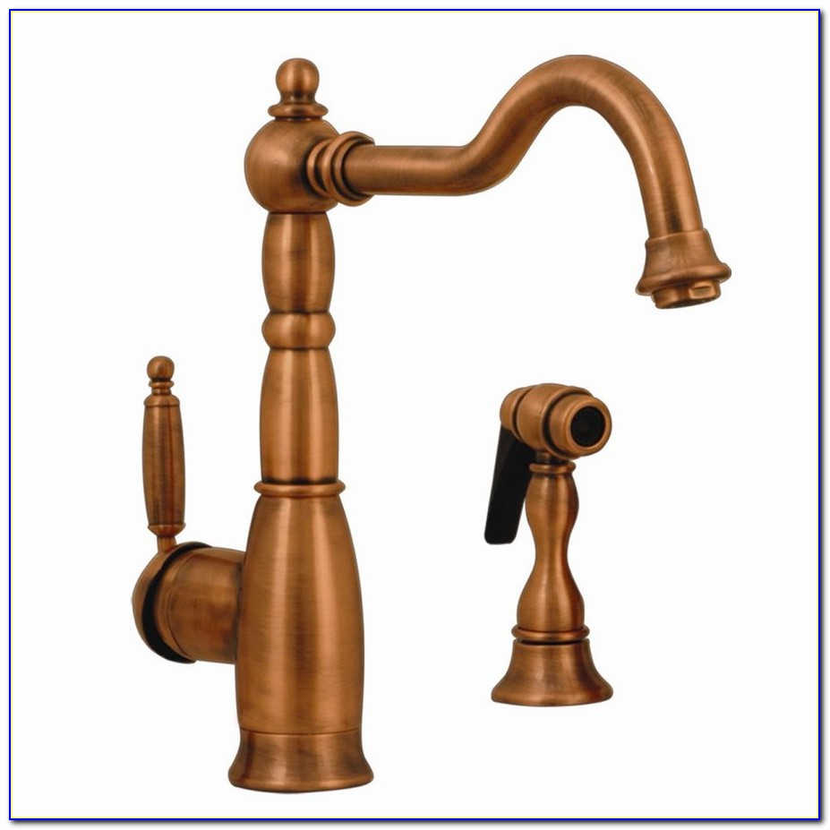 Antique Copper Kitchen Sink Faucets