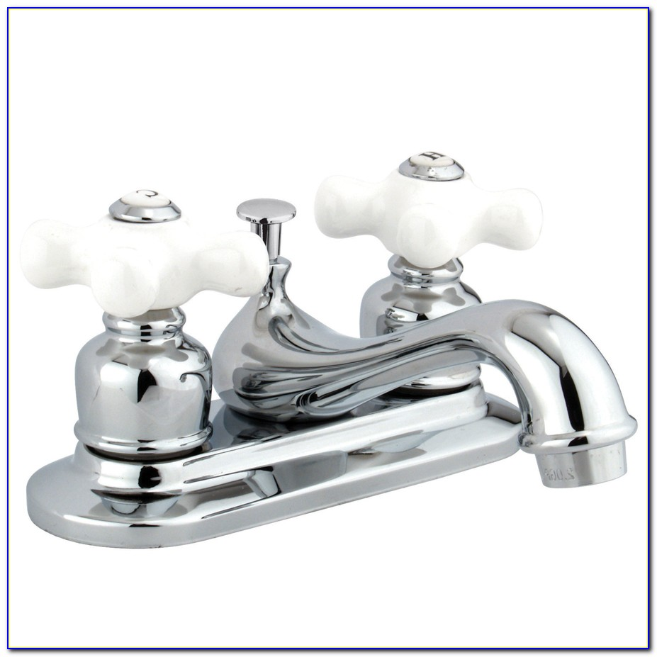 Bathroom Faucets With Porcelain Lever Handles