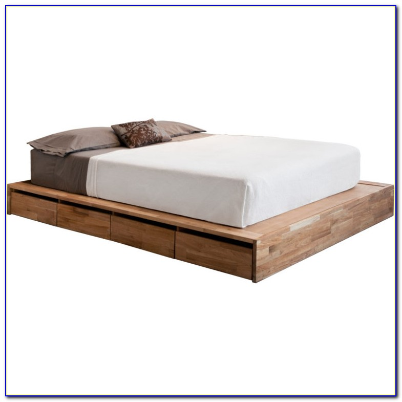 Bed Frame With Headboard Storage Singapore