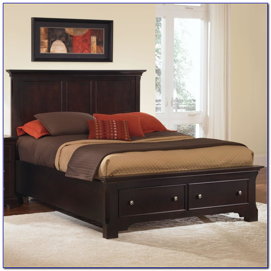 Bed Frames With Headboard And Footboard Brackets