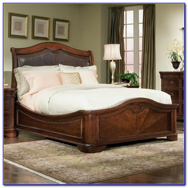Cheap King Size Bed Frame With Headboard And Footboard Attachments Photo 68