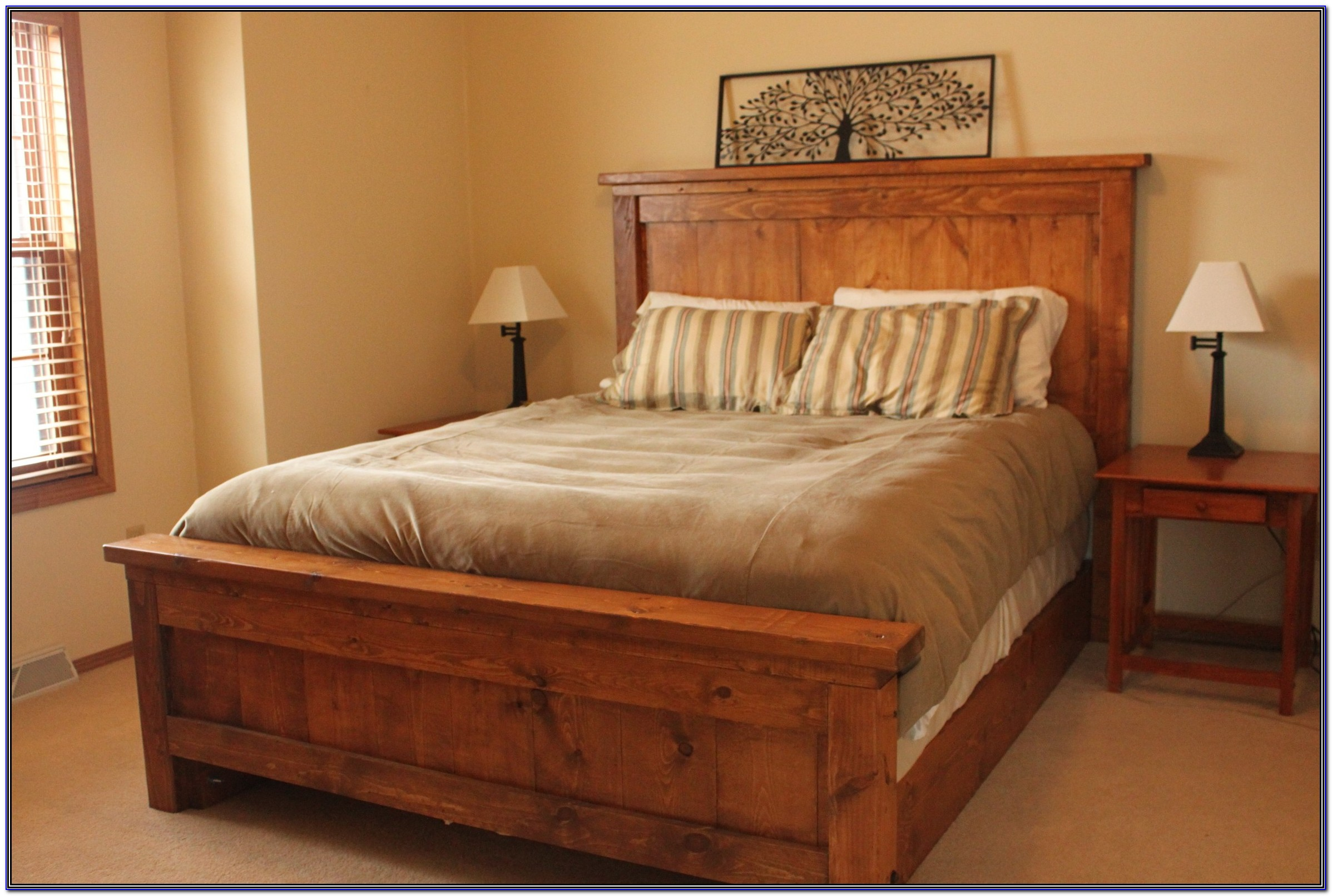 Bed Frames With Low Headboards