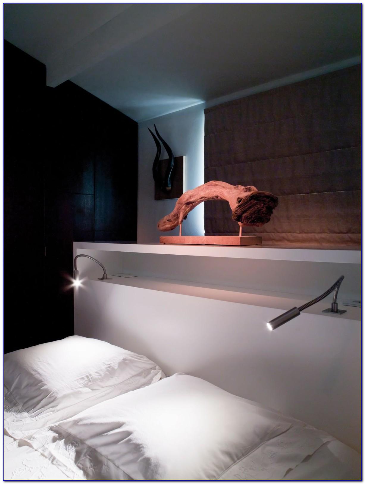 Bed Lamp Led Reading Light Mounts On Headboard