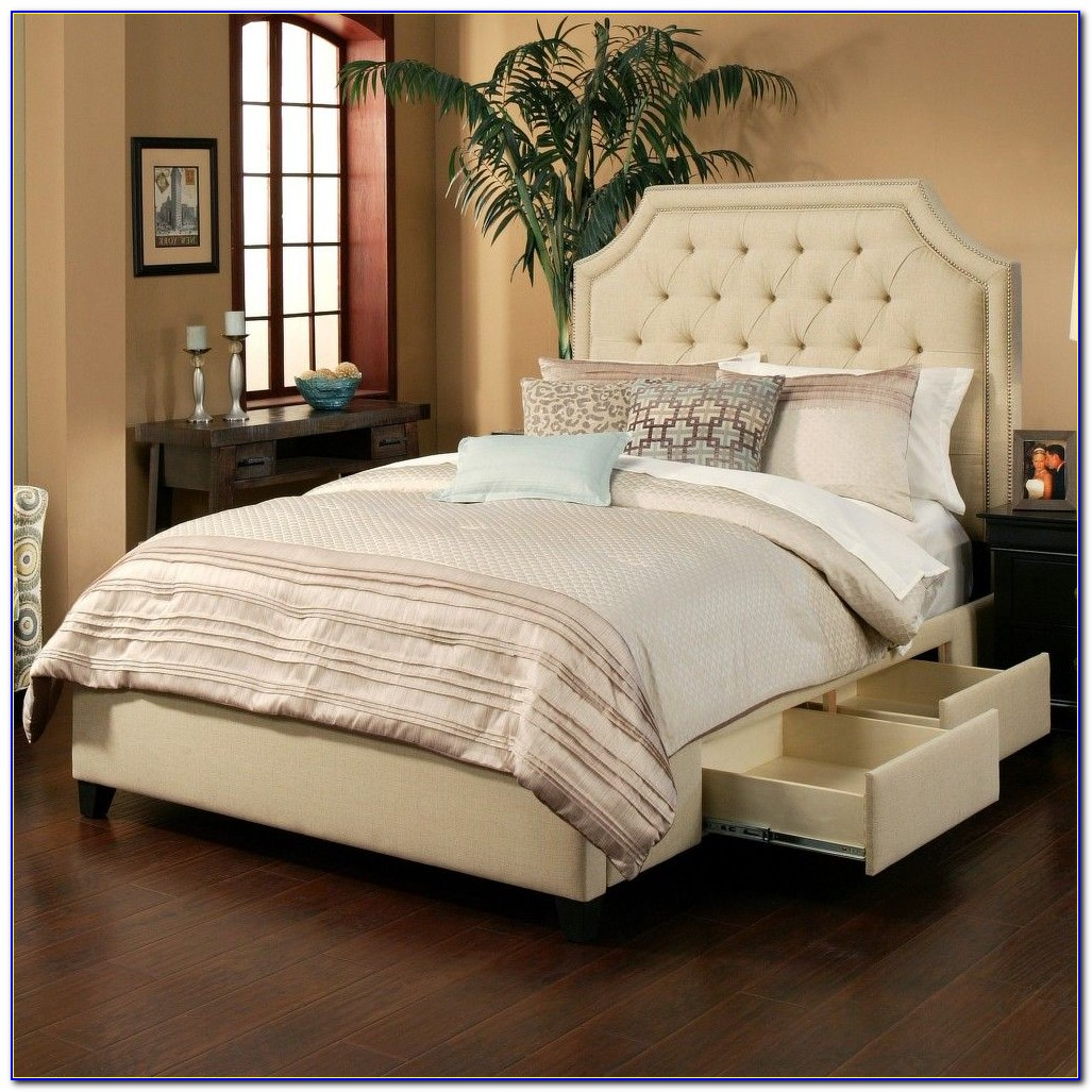 Bed With Headboard Storage Uk
