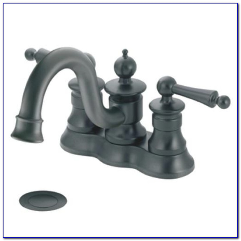 Wrought Iron Twohandle High Arc Bathroom Faucet Swr From Moen