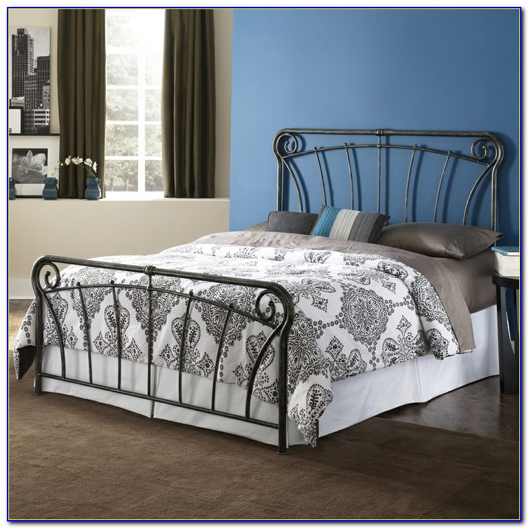 Black Wrought Iron Headboard King Size