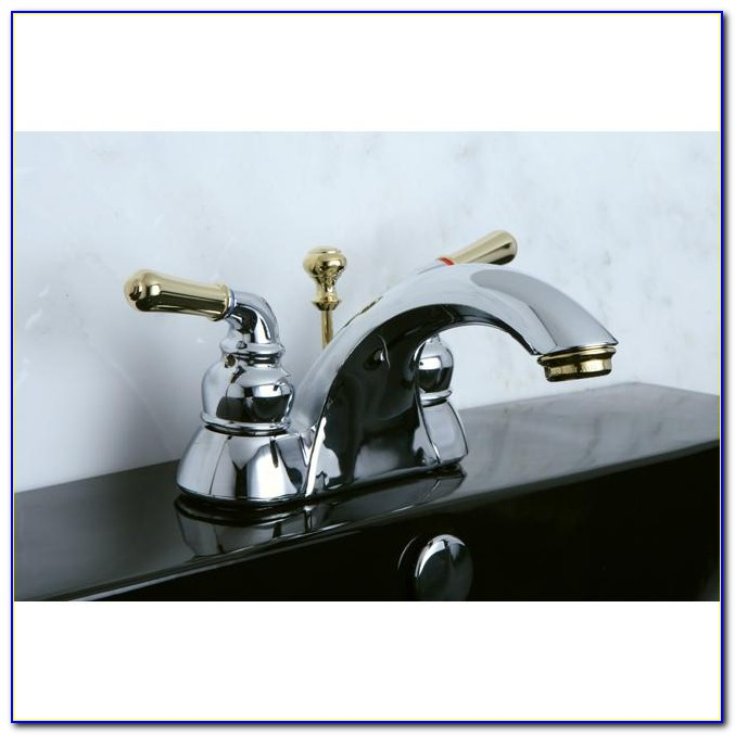 Brass And Chrome Bathroom Faucets