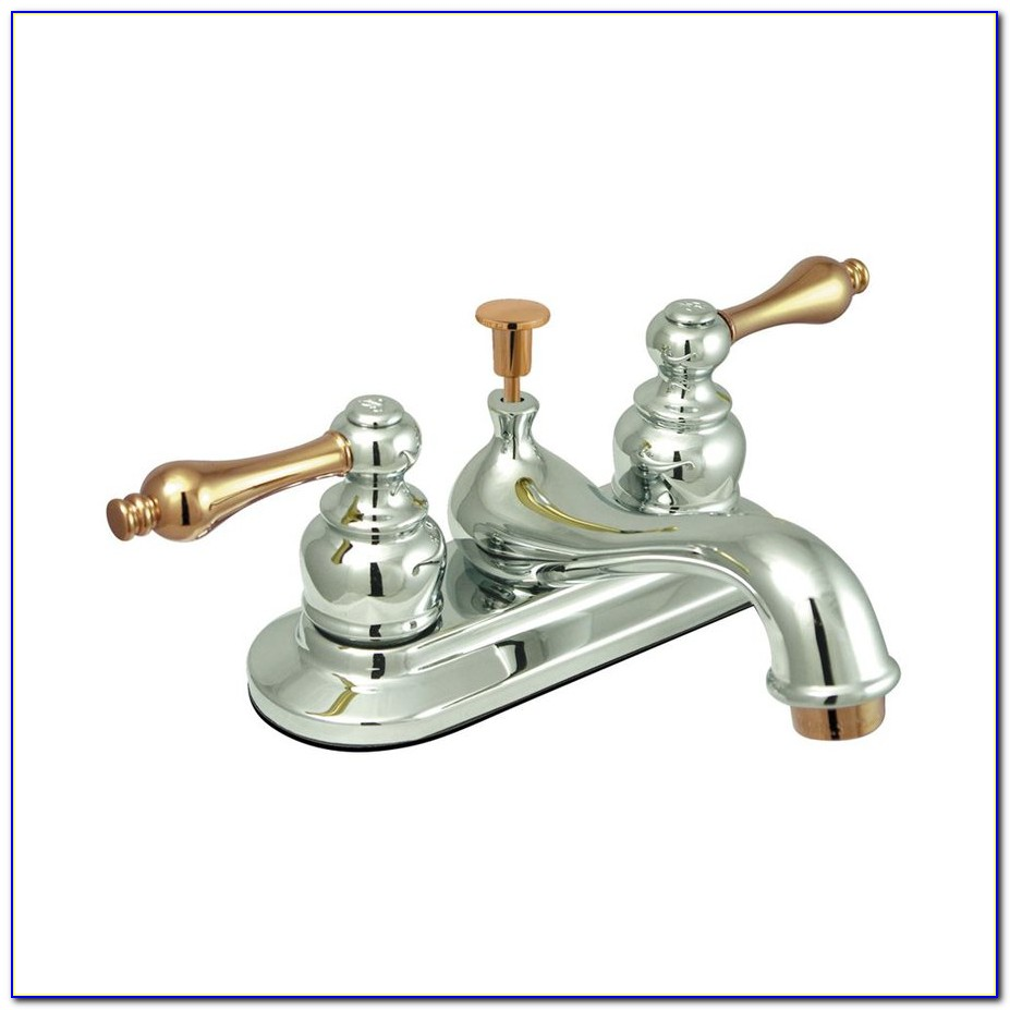 Brass And Chrome Faucets