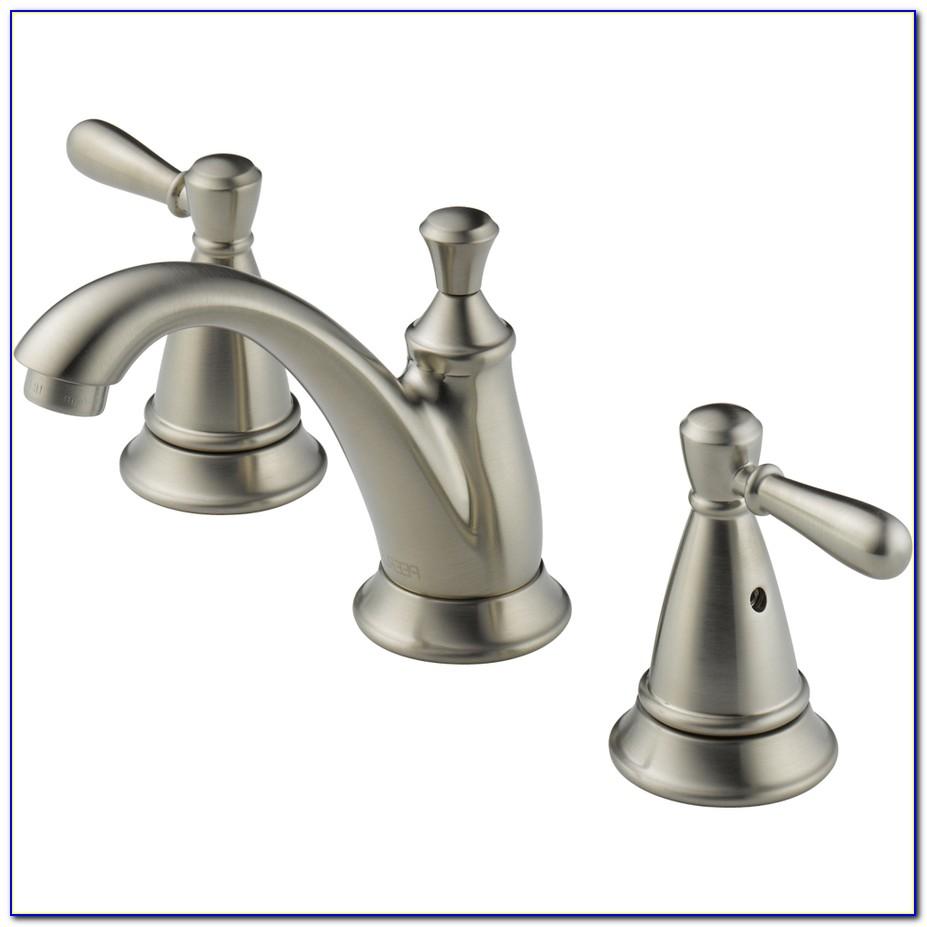 Brushed Nickel Bath Sink Faucet