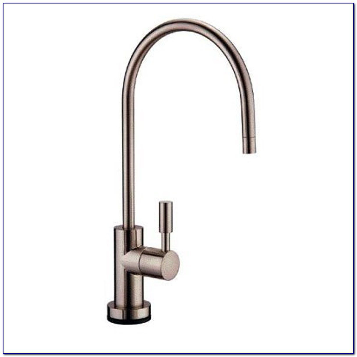 Brushed Nickel Water Filtration Faucet