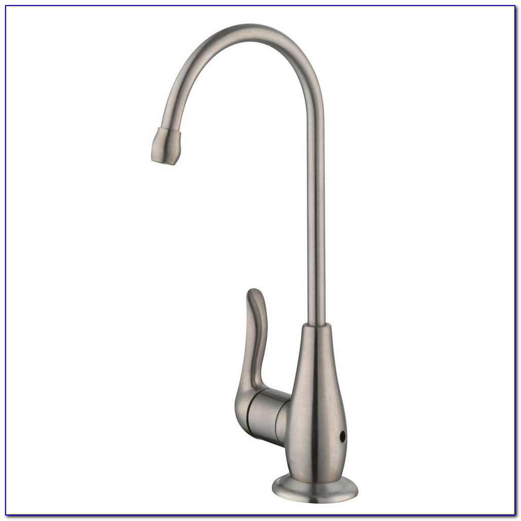 Brushed Stainless Steel Water Filter Faucet