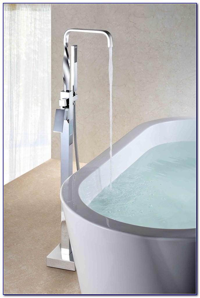 California Faucets Floor Mounted Tub Filler