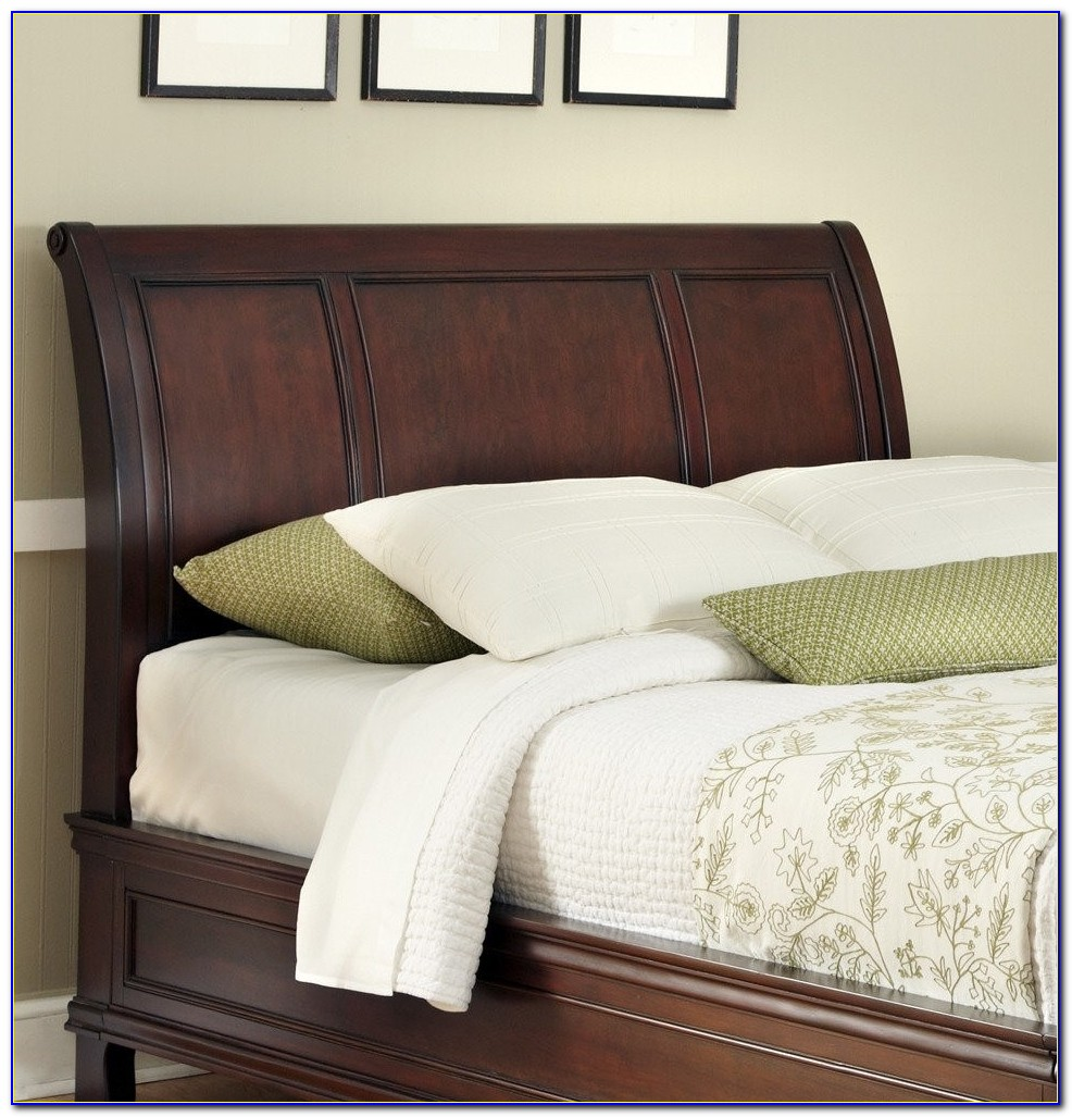 California King Wood Headboard Only