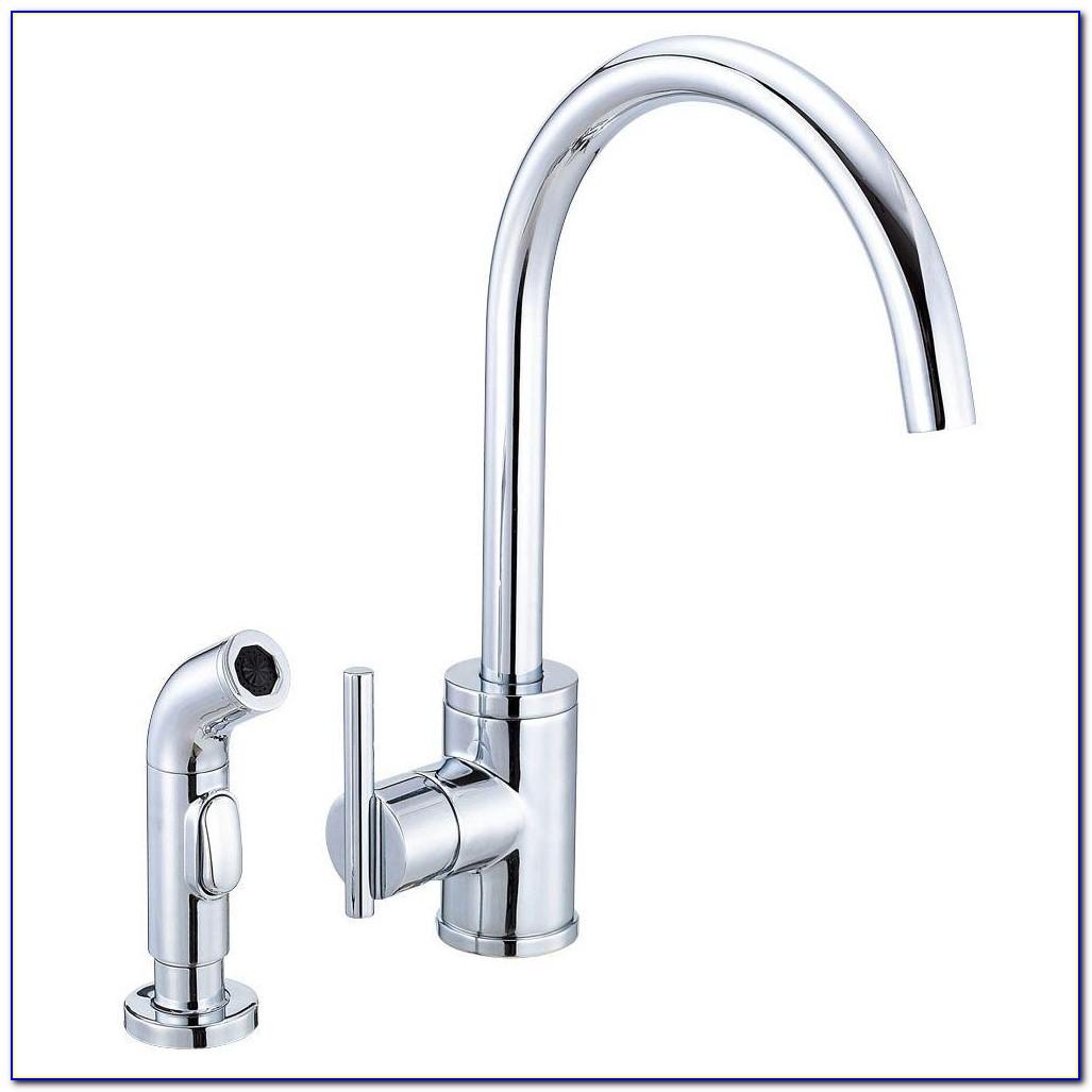 Danze Kitchen Faucets In Brilliant Danze Parma Side Mount Single Handle Side Sprayer Kitchen Faucet On Greatest Danze Kitchen Faucets