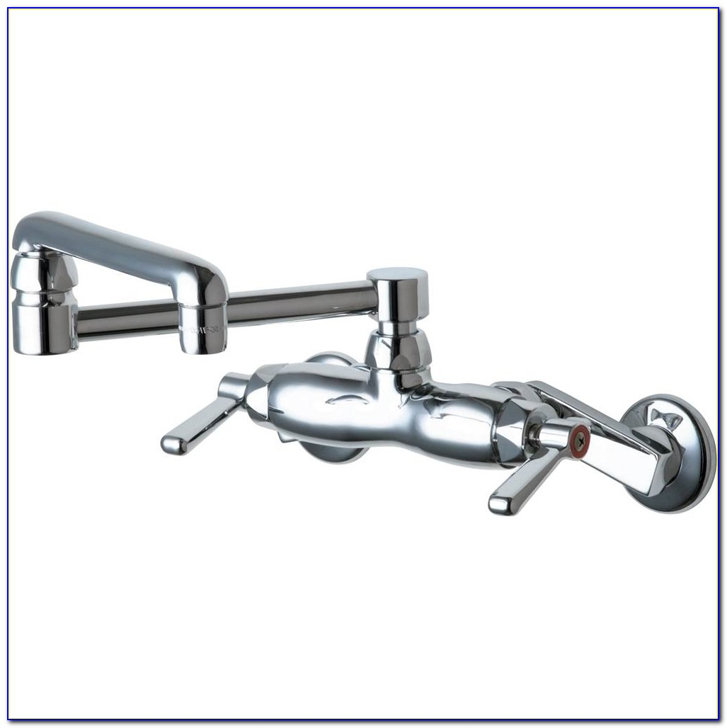 Chicago Faucet Vertical Wall Mount Faucet