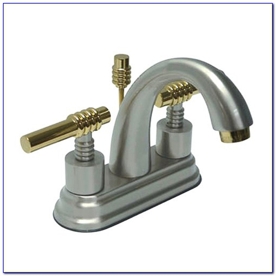 Chrome And Brass Bathroom Sink Faucets