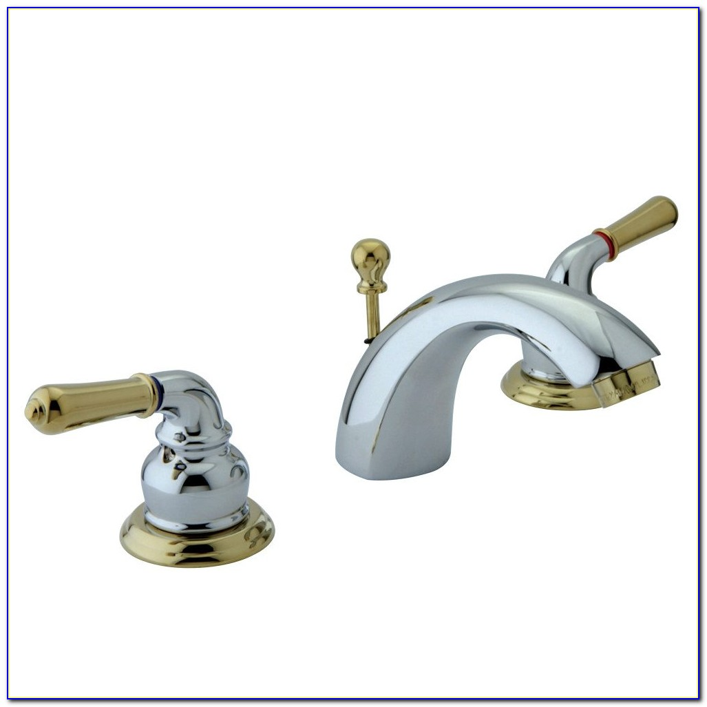 Chrome Polished Brass Bath Faucets