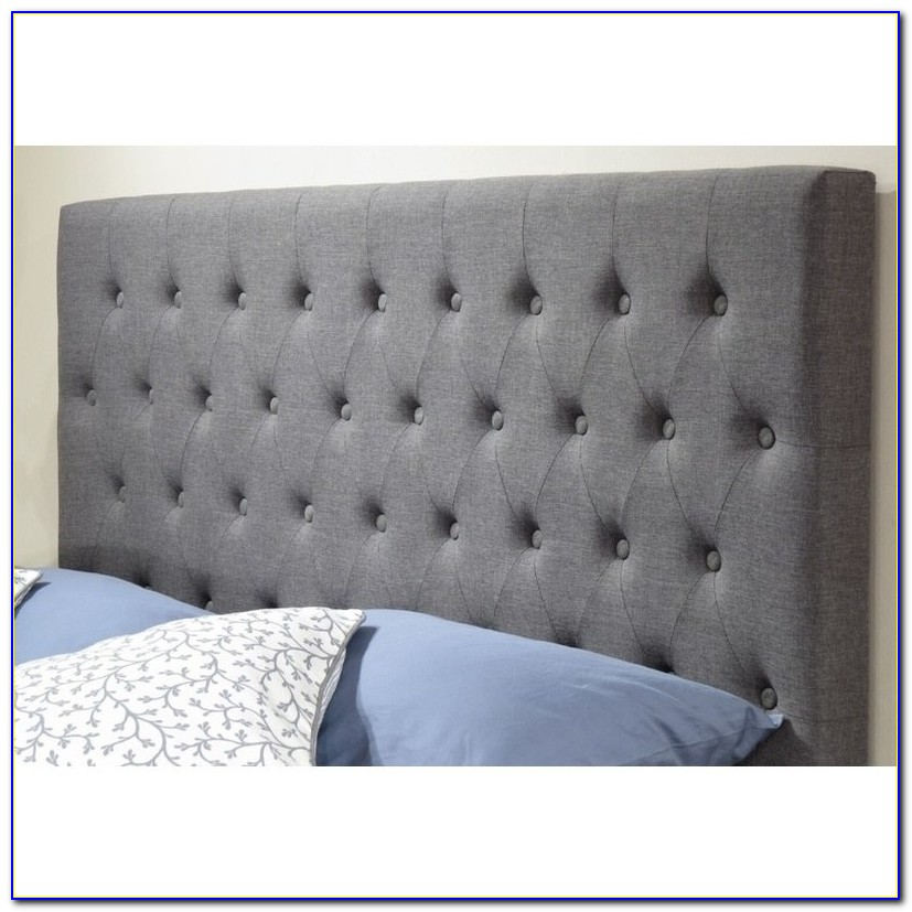 Cream Fabric King Size Headboard