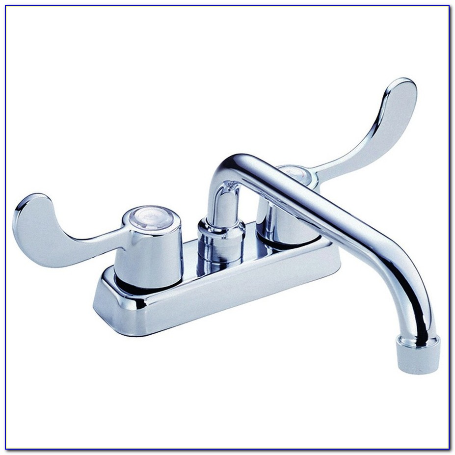 Danze Melrose Single Handle Kitchen Faucet In Stainless Steel