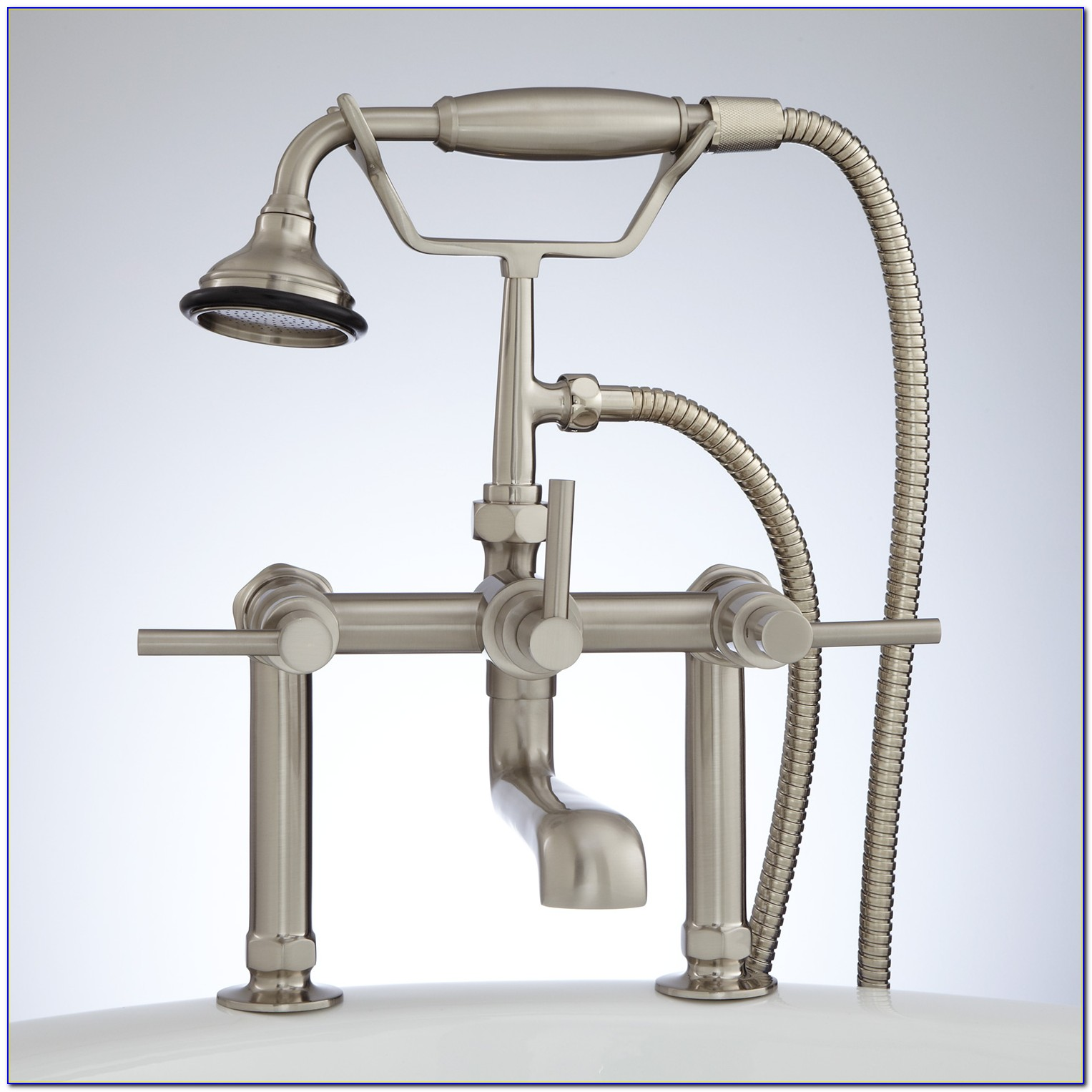 Deck Mounted Tub Faucets Hand Shower