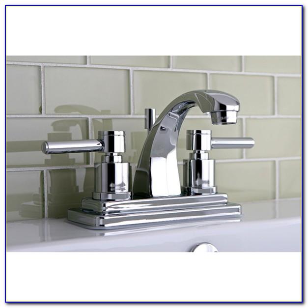 Delta 4 Inch Centerset Bathroom Faucet