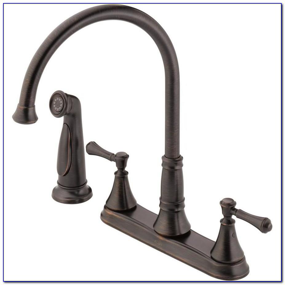 Delta Cassidy Bronze Kitchen Faucet