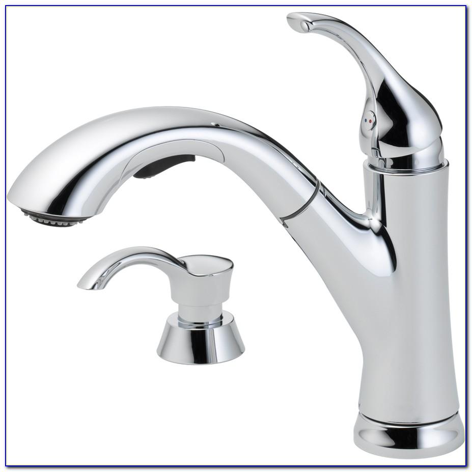 Delta Chrome Kitchen Faucets