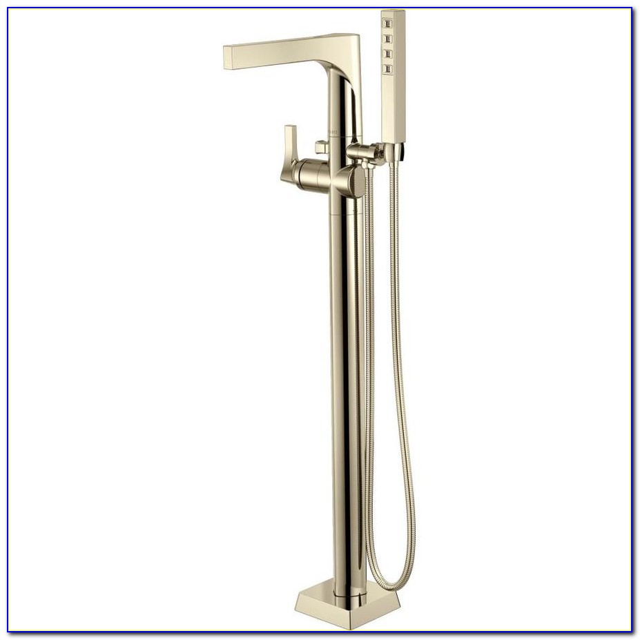 Delta Freestanding Tub Filler Brushed Nickel