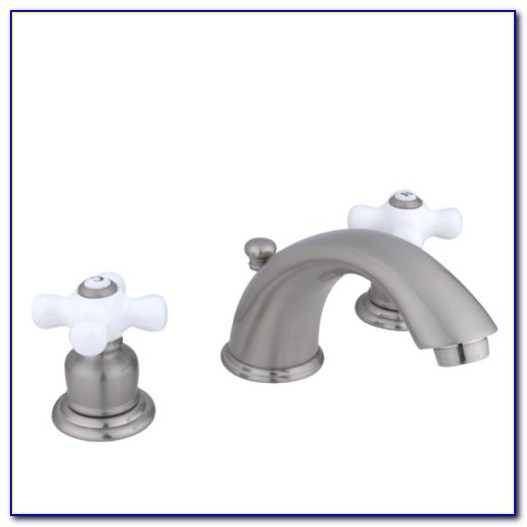 Delta Porcelain Cross Handle Faucet