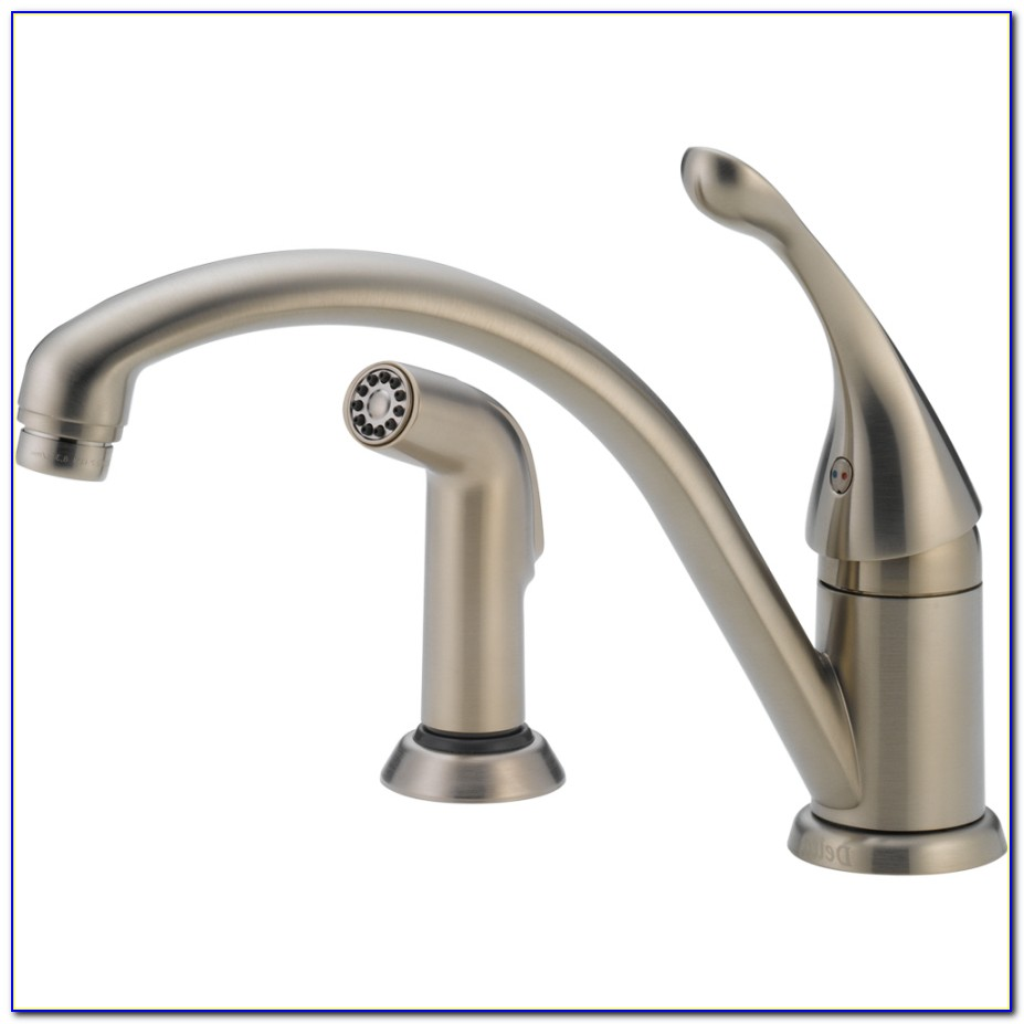 Delta Sink Faucet With Sprayer