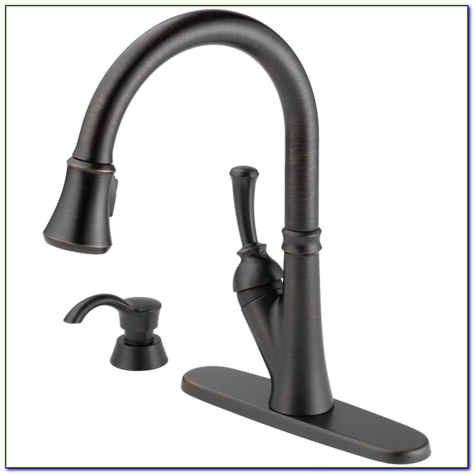 Delta Victorian Bronze Kitchen Faucet