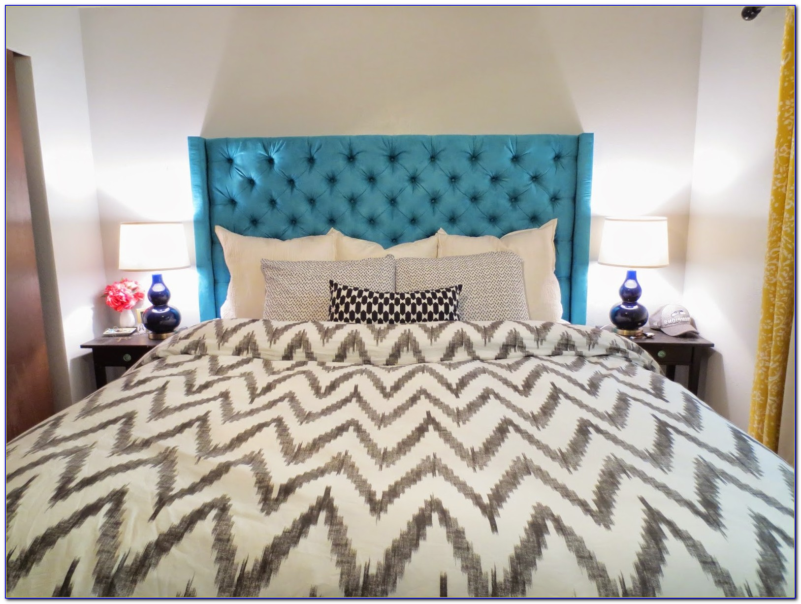 Diamond Tufted Headboard Diy