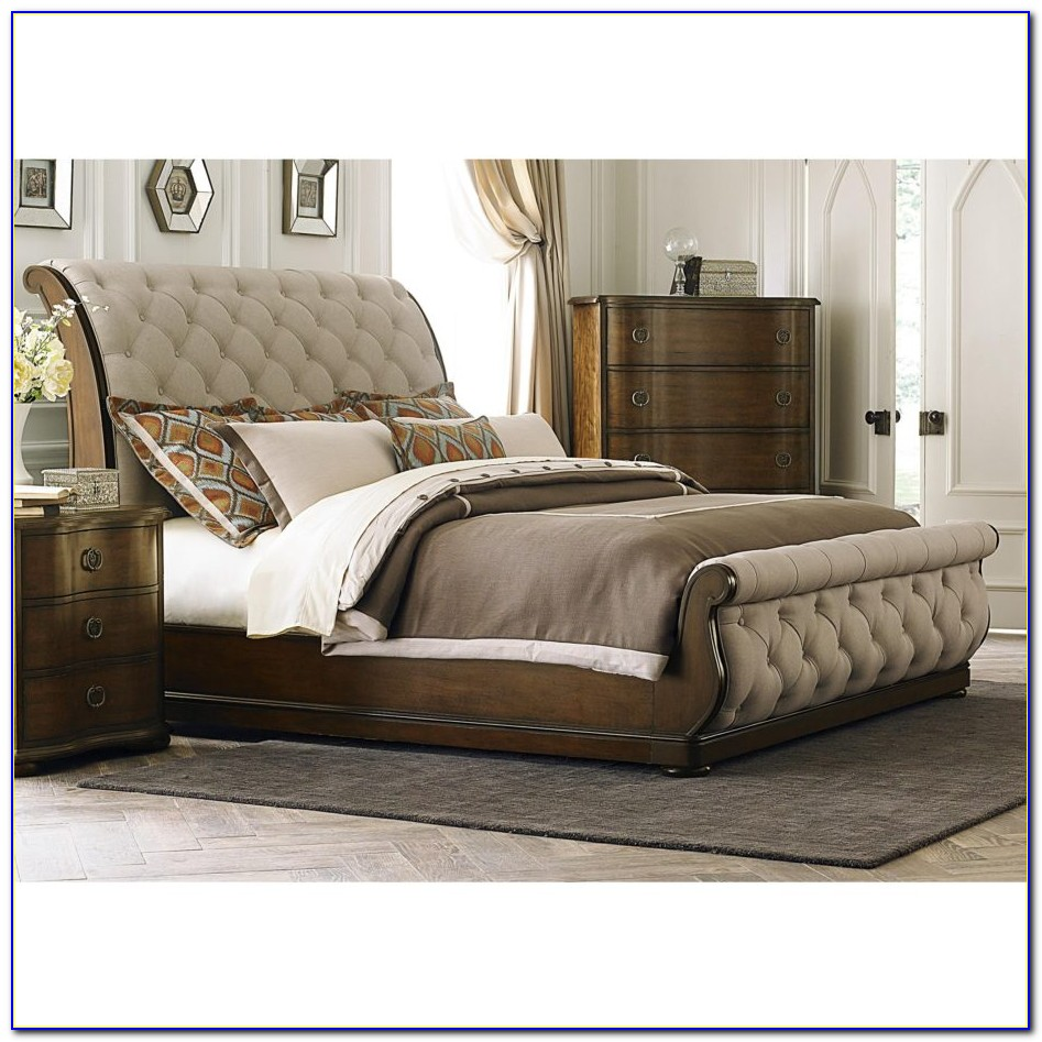 Fabric Headboard And Footboard Sets