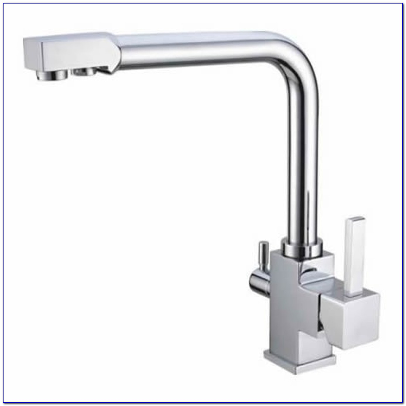 Faucet With Filtered Water Dispenser