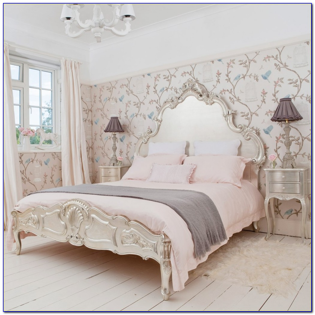 French Style Wood And Upholstered Headboards