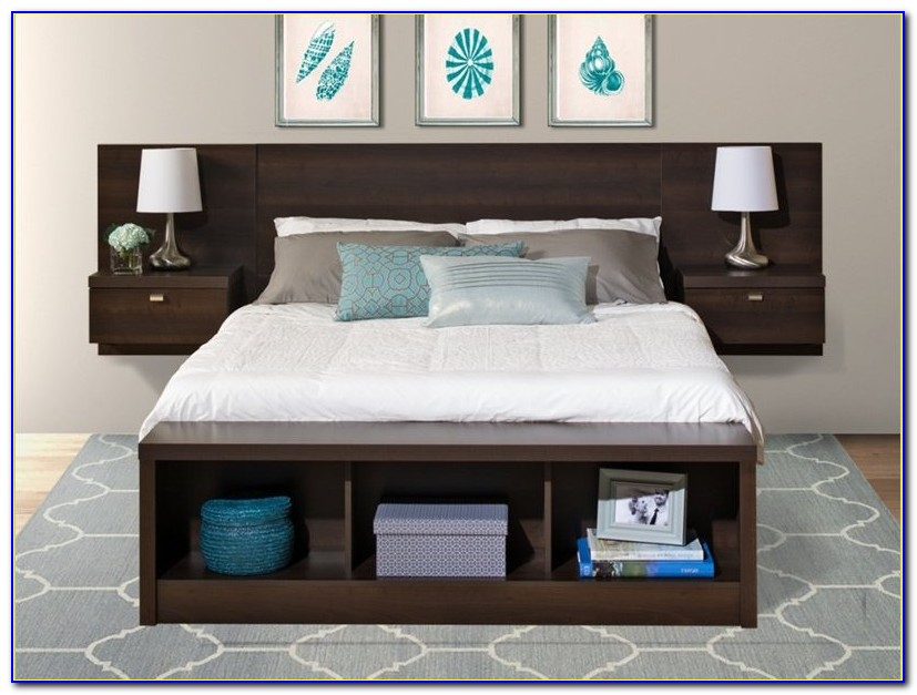 Full Queen Bed Frame Headboard Footboard