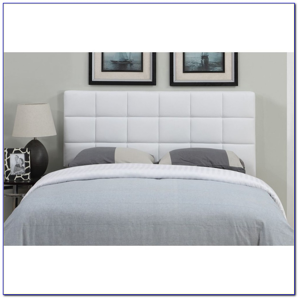 Full Size Bed Leather Headboard