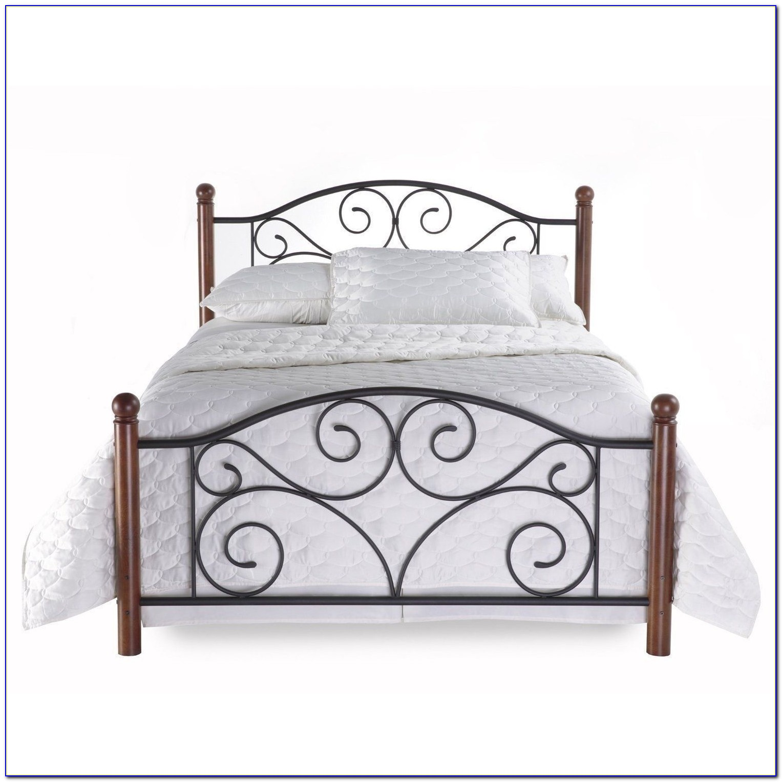 Full Size Metal Bed Headboard And Footboard