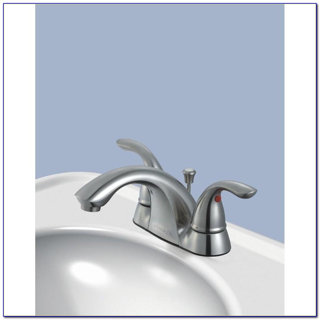 Glacier Bay 2 Handle Bathroom Faucet