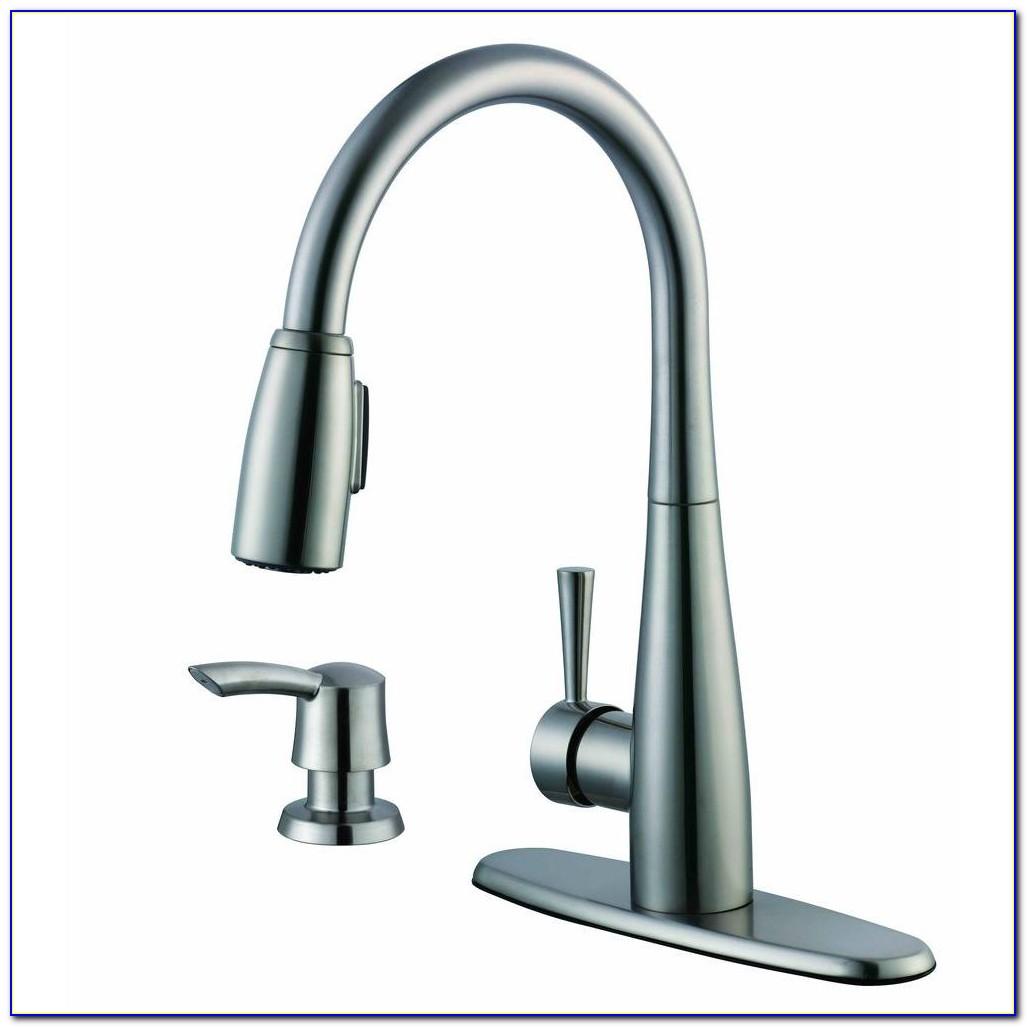 Glacier Bay Single Handle Kitchen Faucet With Sprayer