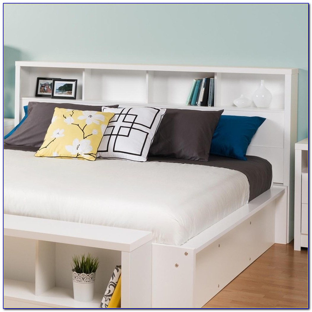 Headboard Storage King Size Bed