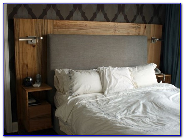 Headboard With Built In Cupboards